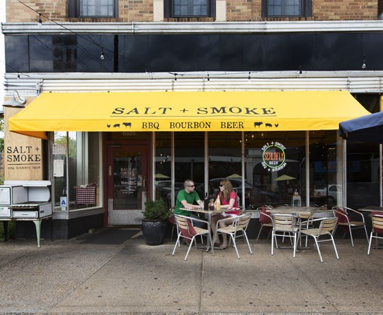 Outside Salt + Smoke. | Jennifer Silverberg