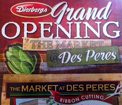 The Market at Des Peres opens today at 9 a.m.