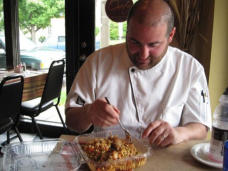 Onesto owner and chef Vito Racanelli - ROBIN WHEELER