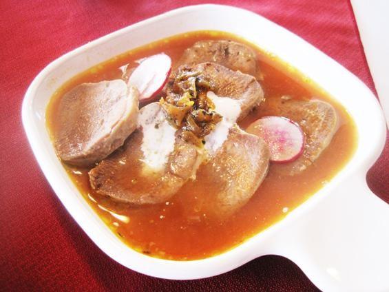 Beef tongue at Café Natasha's Kabob International - IAN FROEB