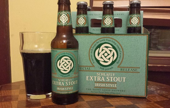 Schlafly Irish-Style Extra Stout - RICHARD HAEGELE