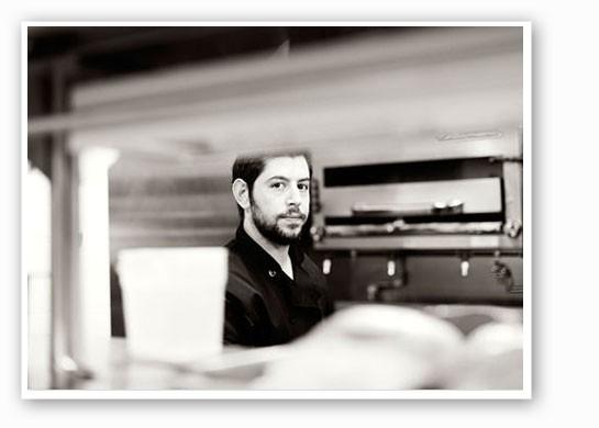 Ben Poremba in the kitchen. | Jennifer Silverberg