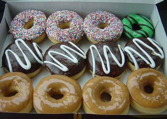 Doughnuts from Tim Horton's.   Daniel Nugent