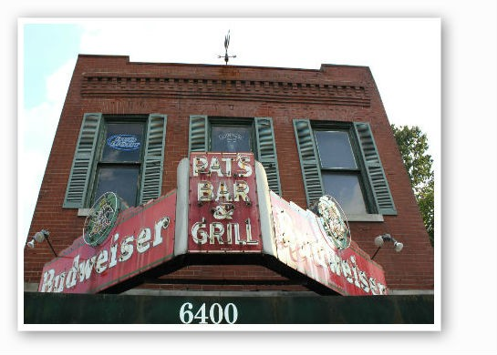 Pat's iconic signage. | Pat Kohm