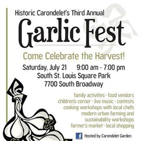 IMAGE VIA SAINT LOUIS GARLIC FEST