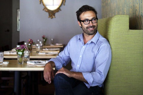 Tom Schmidt, owner of Franco and Nico, inside Nico | Jennifer Silverberg