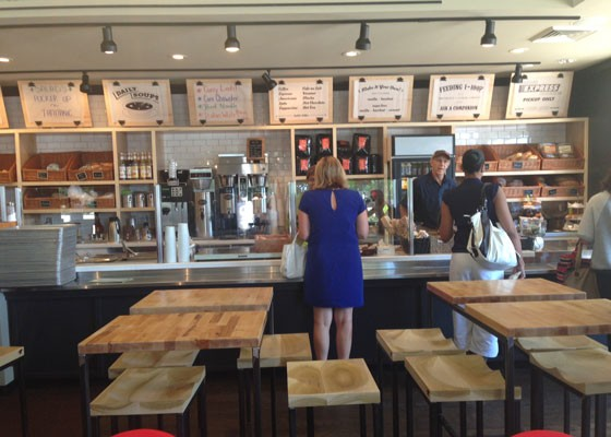 Inside the renovated Companion Cafe. | Nancy Stiles