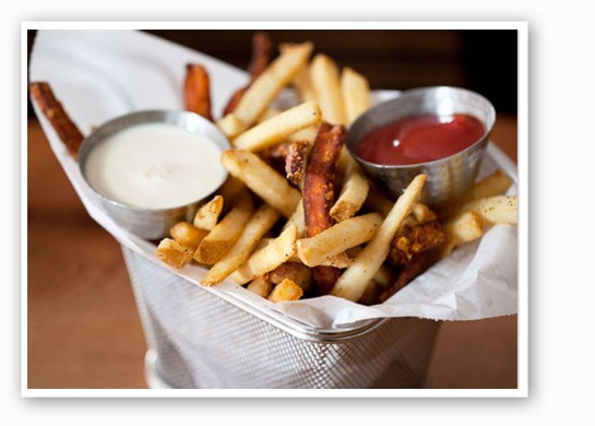 Five Star french fries. | Jennifer Silverburg