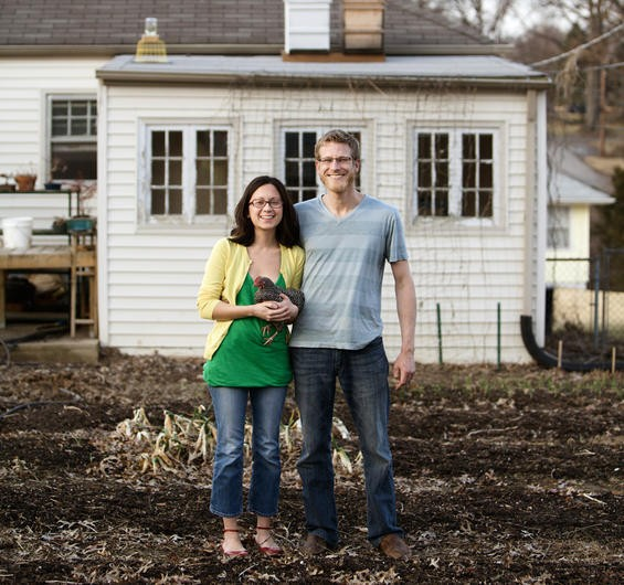 Homegrown: Danielle and Justin Leszcz of Affton's YellowTree Farms. - JENNIFER SILVERBERG