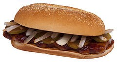 McRib judgement got you down? Disguise it! - WIKIMEDIA COMMONS