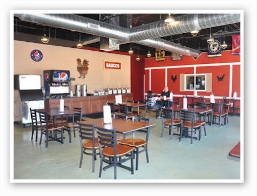 The dining room of Vernon's | Tara Mahadevan
