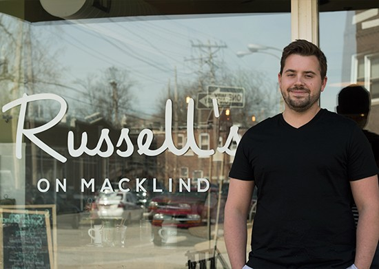 Russell Ping of Russell's on Macklind and Russell's Bakery & Cafe. | Mabel Suen