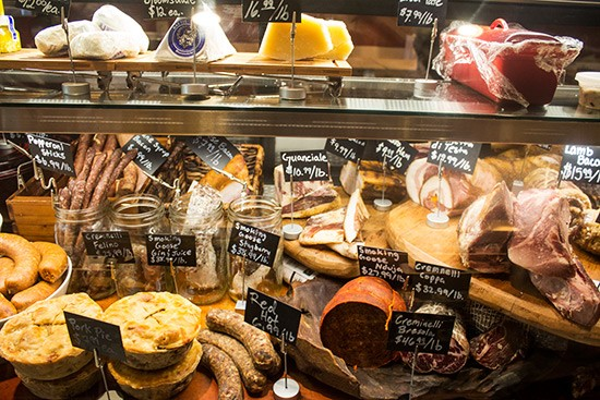 A look inside the display case at Truffles Butchery. | Photos by Mabel Suen