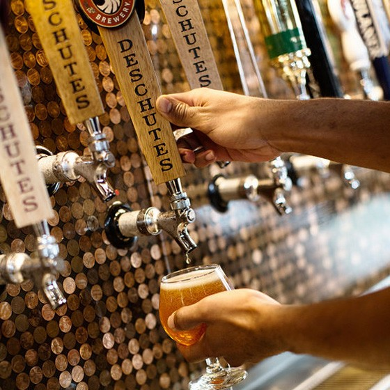 Flying Saucer will have a series of barleywines on tap this week. | Jennifer Silverberg
