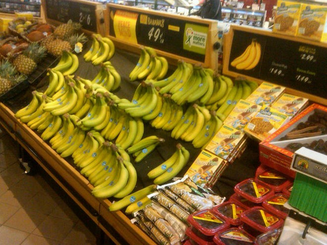 St. Peters Schnucks has some bananas today. - KIM REECE LOWELL