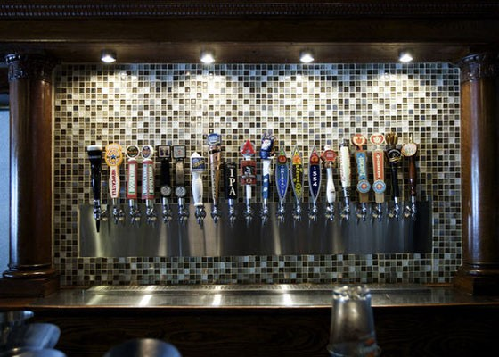 The taps at Three Kings. | Jennifer Silverberg