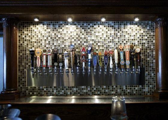 The taps at Three Kings. | Jennifer Silverberg