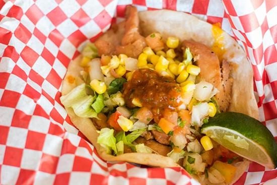 Chicken taco.