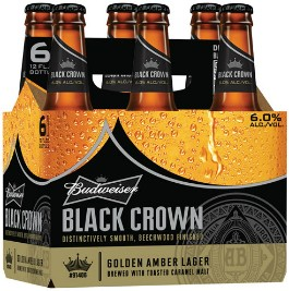 Budweiser Black Crown. - IMAGE VIA