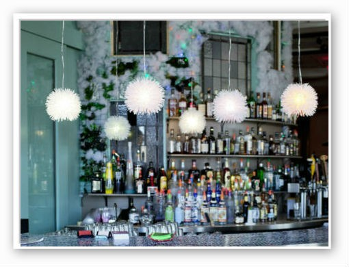 The bar at Plush | Jennifer Silverberg