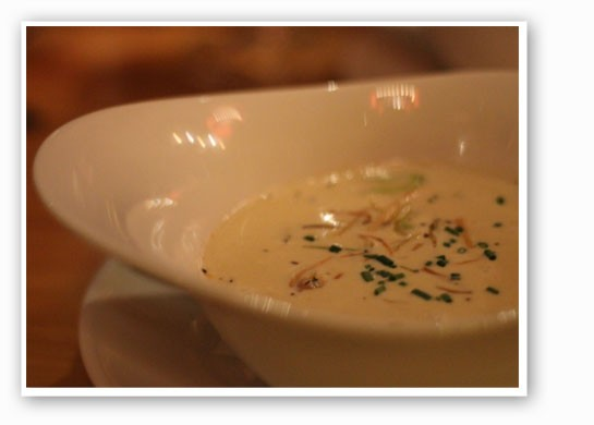 Shrimp and butternut squash chowder. | Nancy Stiles