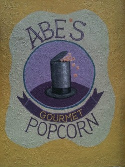 Abe's Popcorn at the Lincoln Theatre opens later this month. Honest. - ROBIN WHEELER