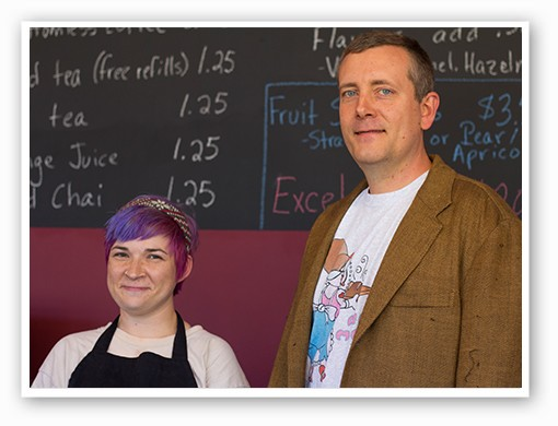 Co-owners Roxanne Cypret and Mike Dudley   Mabel Suen