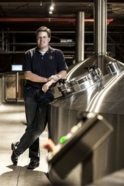Florian Kuplent of Urban Chestnut is leading the next generation of brewers in St. Louis. - JENNIFER SILVERBERG