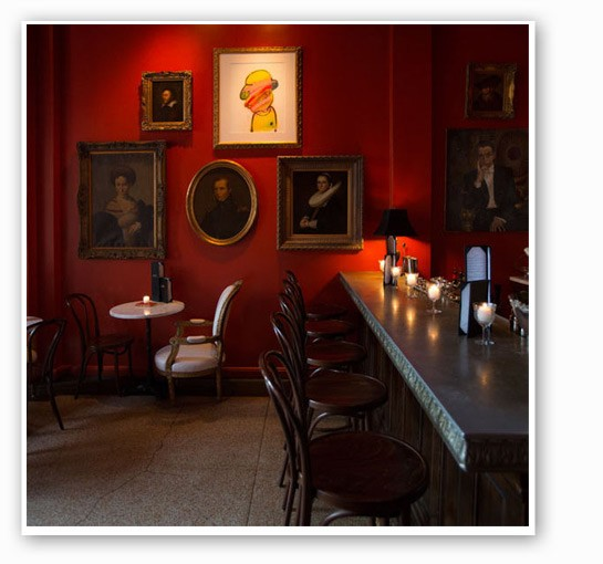 The dining room at Bar Les Frères. | Jennifer Silverberg.