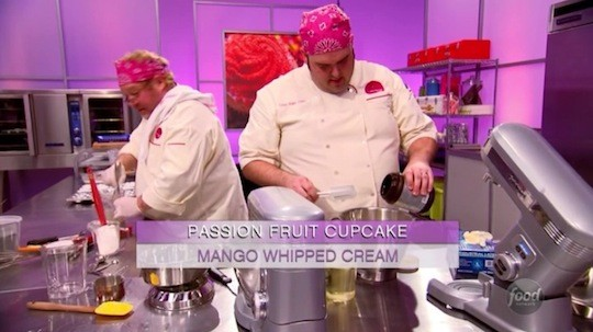 Chefs Casey Shiller and Dana Holland hard at work on Cupcake Wars | Food Network