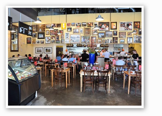 Inside Pastaria. | Tara Mahadevan