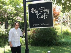 Colleen Clawson, chef at Big Sky Cafe - EMILY WASSERMAN