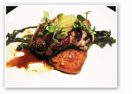 A grilled octopus dish at Sidney Street Cafe. | Ian Froeb