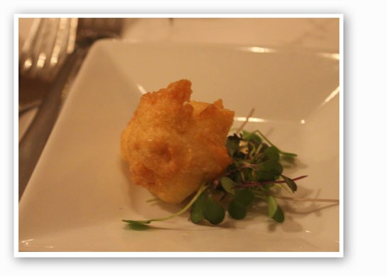 A surprise amuse bouche. | Nancy Stiles