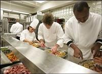 The White House kitchen. - SHEALAH CRAIGHEAD, WIKIMEDIA COMMONS