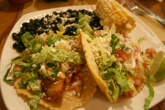 The Tortillaria's Fish Tacos - CHRISSY WILMES