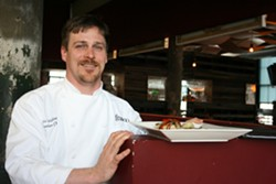 Chris Williams, executive chef at Franco - CHRISSY WILMES