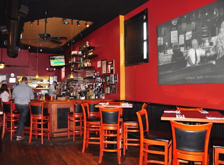 Inside West End Grill & Pub | Tara Mahadevan