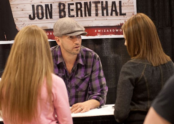 Jon Bernthal of The Walking Dead at Wizard World 2014. | Jon Gitchoff