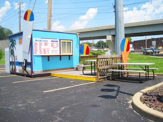 A new snow-cone stand at the old Cup of Sno location. - IAN FROEB