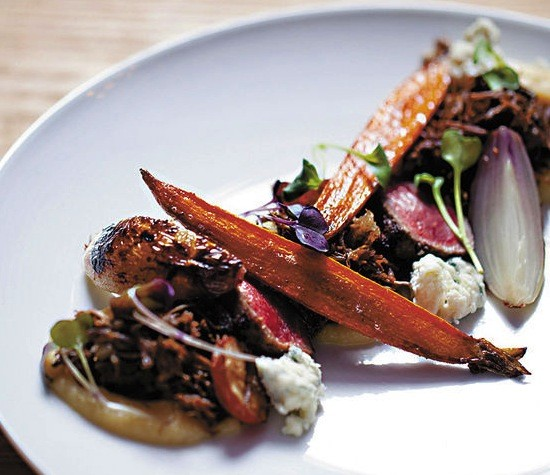 """The dish called """"Cow"""" at Little Country Gentleman - JENNIFER SILVERBERG"""