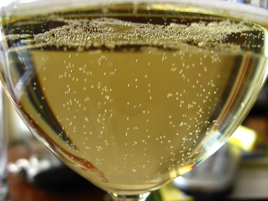 Hey! Tiny bubbles in the wine! Now this is a moscato we could get outside of! - IMAGE CREDIT