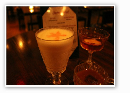 Three experimental drinks via Sanctuaria. | Zach Garrison