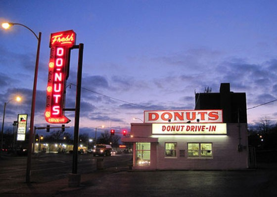 Donut Drive-In. | RFT Photo