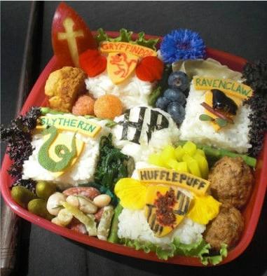 Cute! Harry-Potter-bento-box cute! - CUTESTFOOD.COM