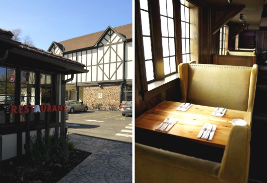 The exterior and interior of the newly remodeled Restaurant at the Cheshire. - LIZ MILLER
