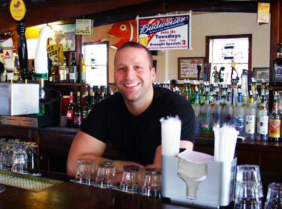Anthony Scarato, of Anthonino's Taverna. - KATIE MOULTON