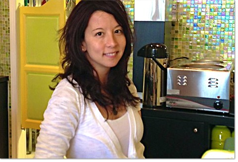 Natasha Kwan, owner of Frida's Deli in University City. - COURTESY OF FRIDA'S DELI