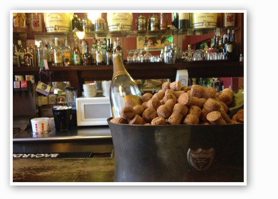 The bar at Kopperman's. | Nancy Stiles