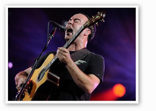 Dave Matthews at Busch Stadium | Todd Owyoung